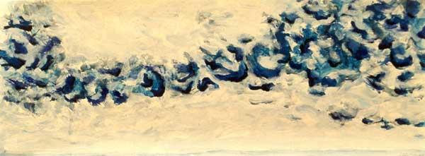 Kieviten 2 - acryl, 40 x 100 cm