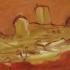 La Promerede 1, olieverf 37 x 100 cm