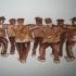 Klepperman 13 - sepia, 25 x 20 cm